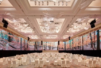 Grand Ballroom with 270 Seamless Projection