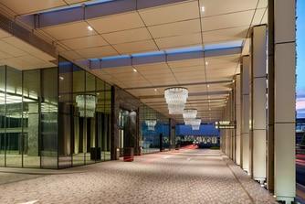 Hotel Driveway