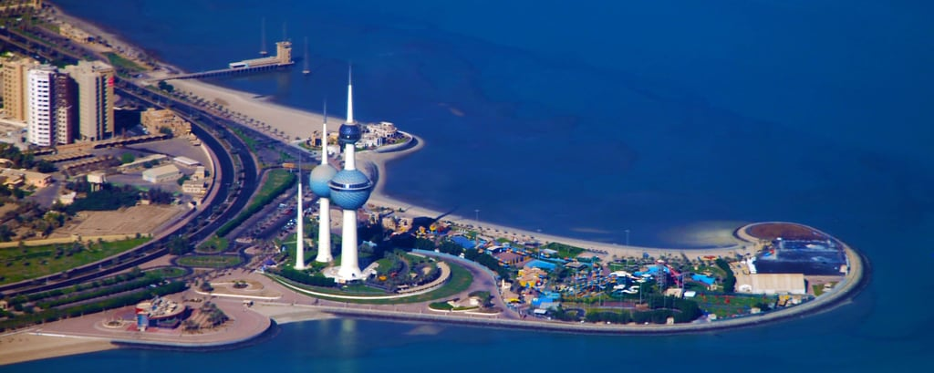 Kuwait Towers Attraction