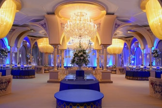 Crystal Ballroom Wedding