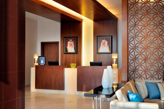 Lobby Reception Residence Inn Kuwait