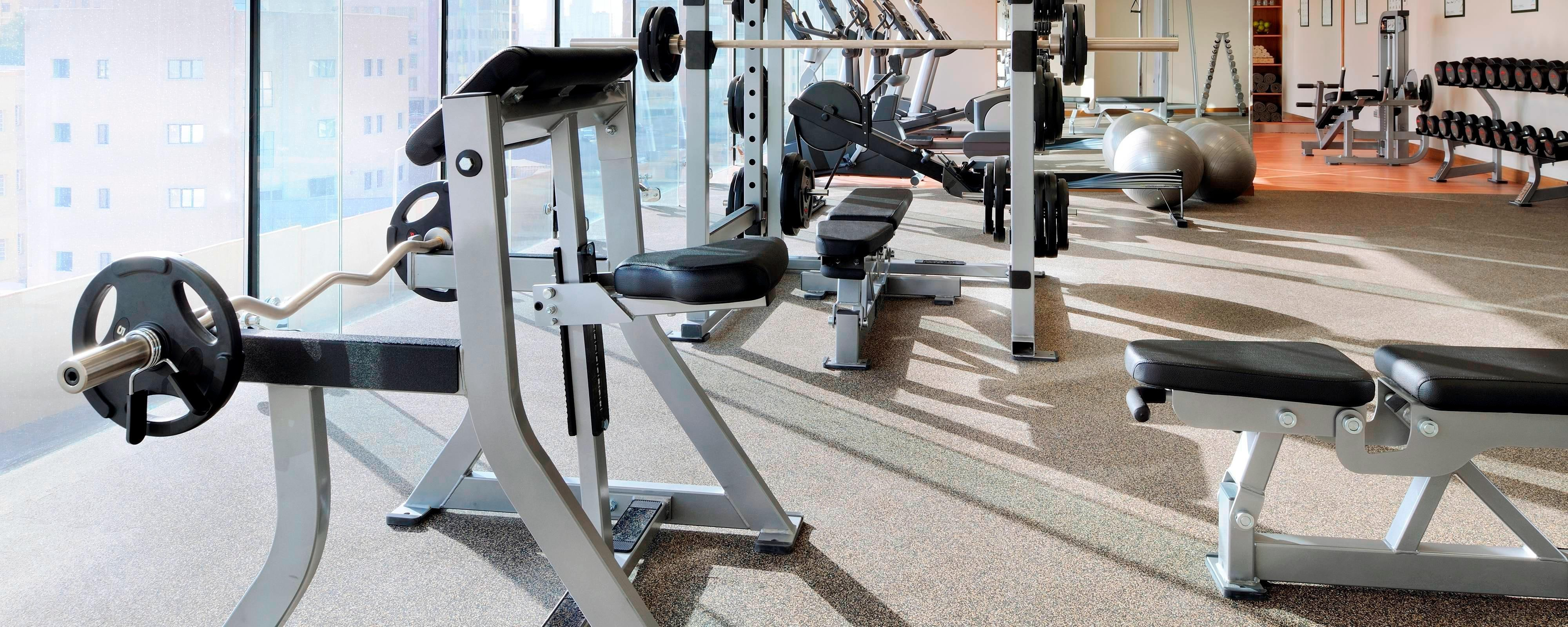 Residence Inn Kuwait Fitness Center
