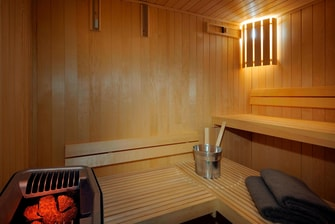 Recreational Sauna Kuwait Hotel