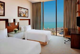 Residence Inn Kuwait Twin/Twin Studio Sea View