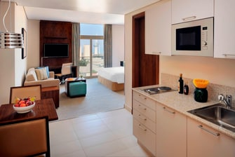 Studio Kitchen Residence Inn Kuwait