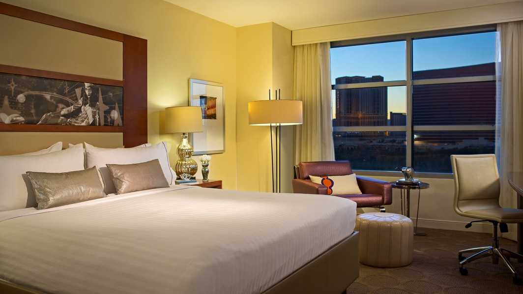 Luxury Hotel Room Las Vegas