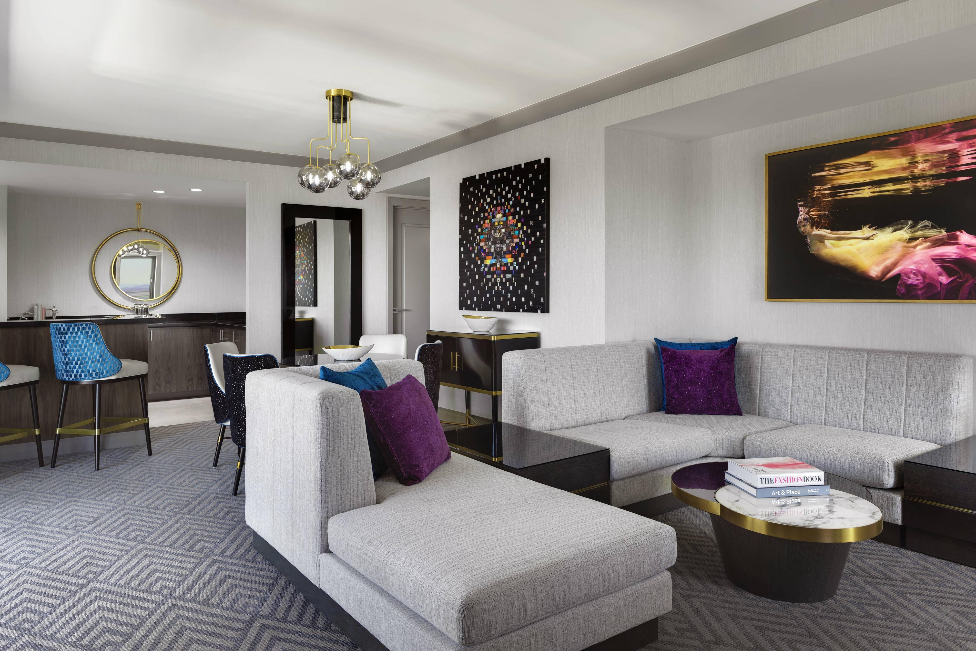 Wraparound Terrace Suite Living Area