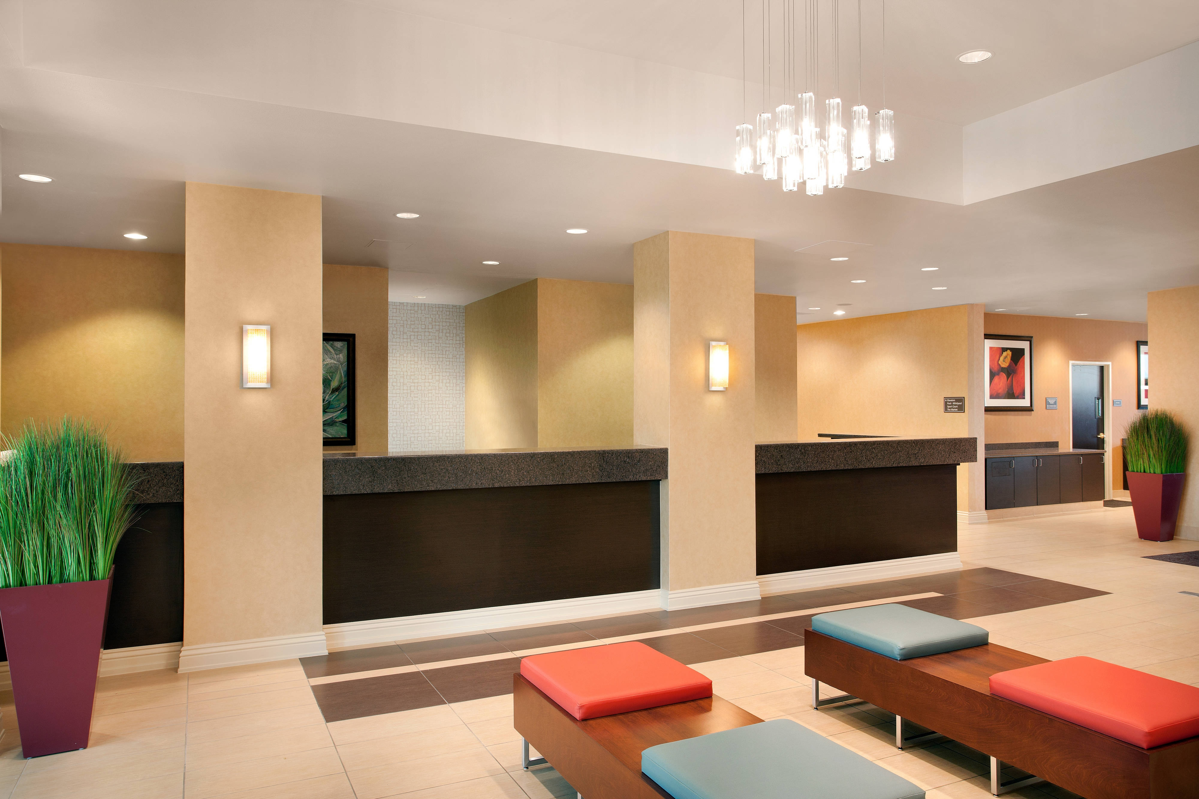 Extended Stay Las Vegas Lobby