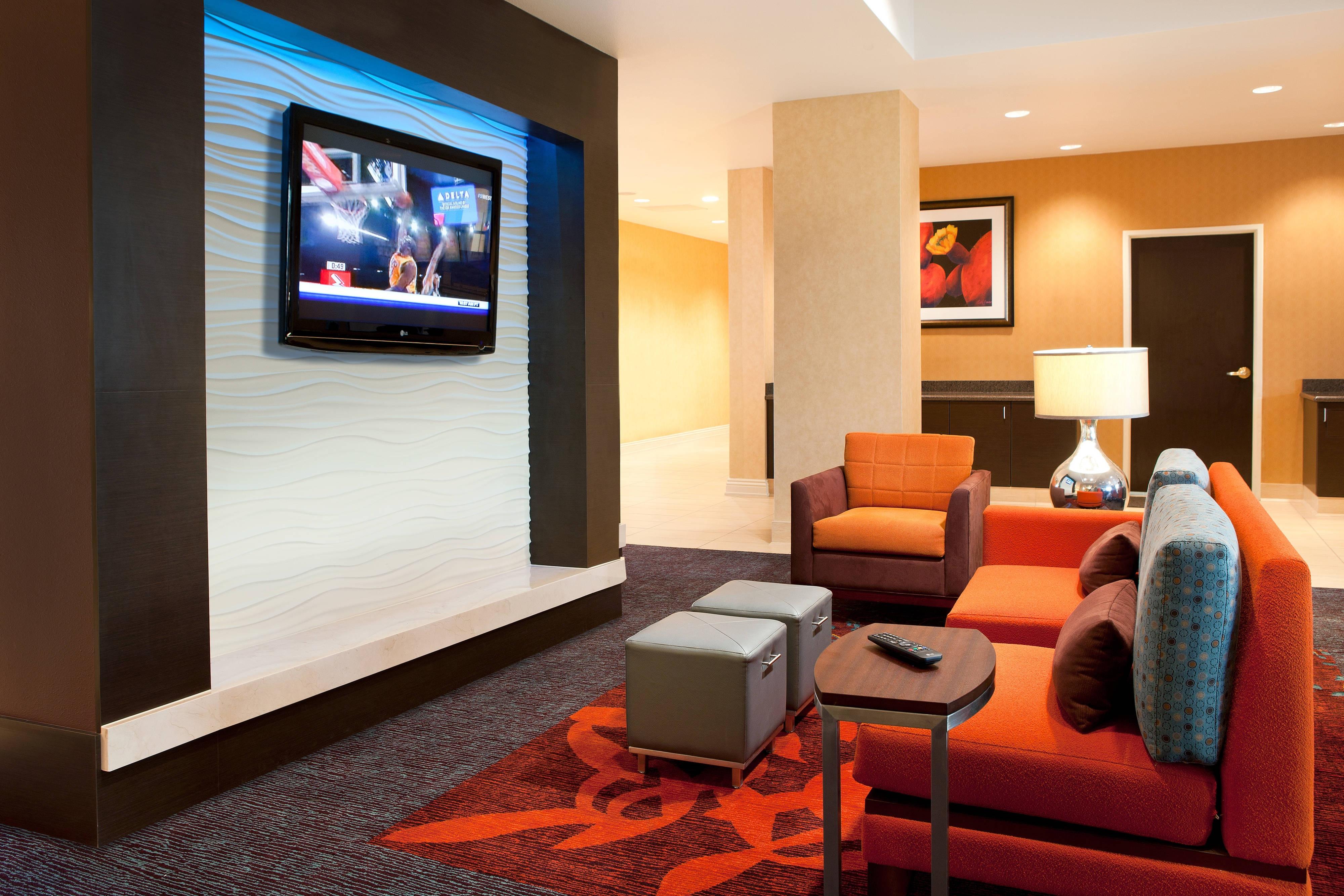 Lounge del hotel en Las Vegas