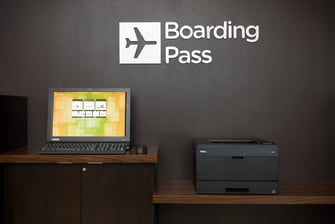 Las Vegas Summerlin boarding pass