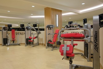 Fitness Center Weight Machines