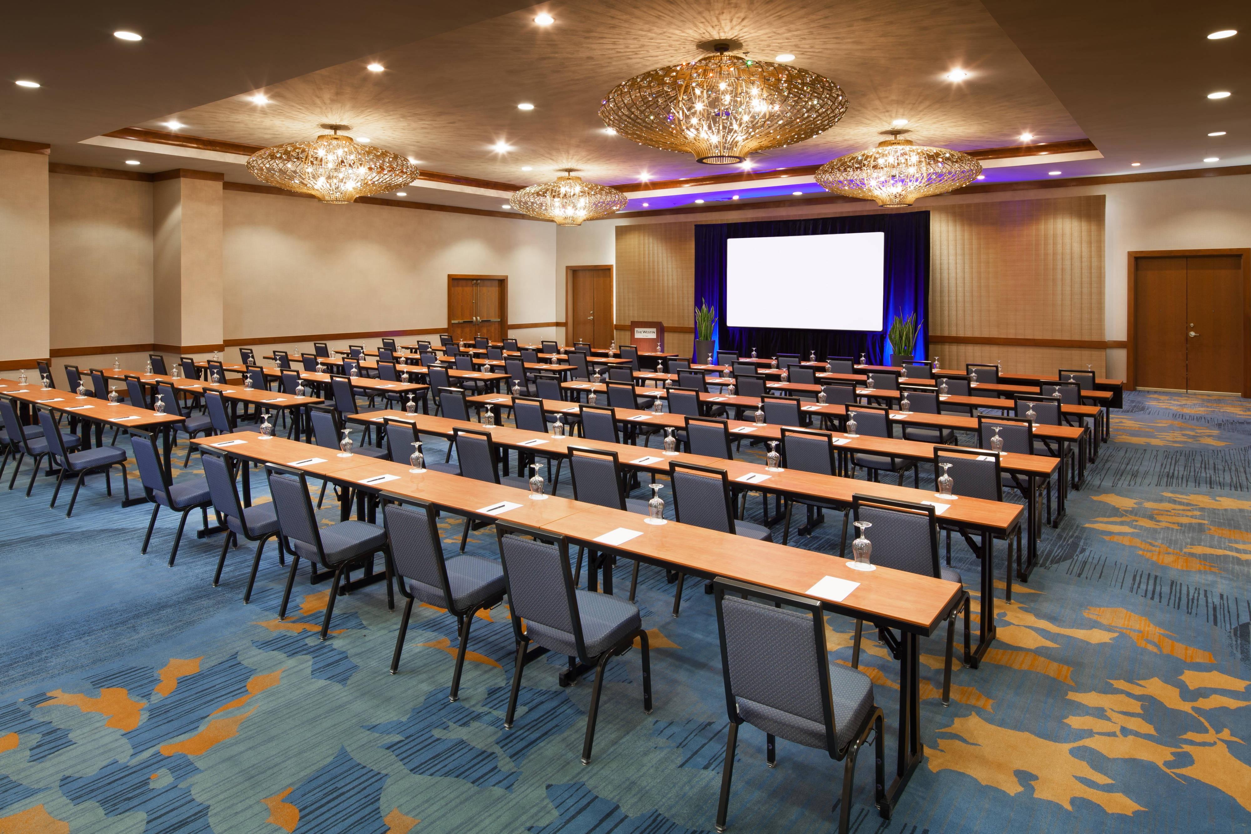 The Acacia Ballroom - Classroom Style