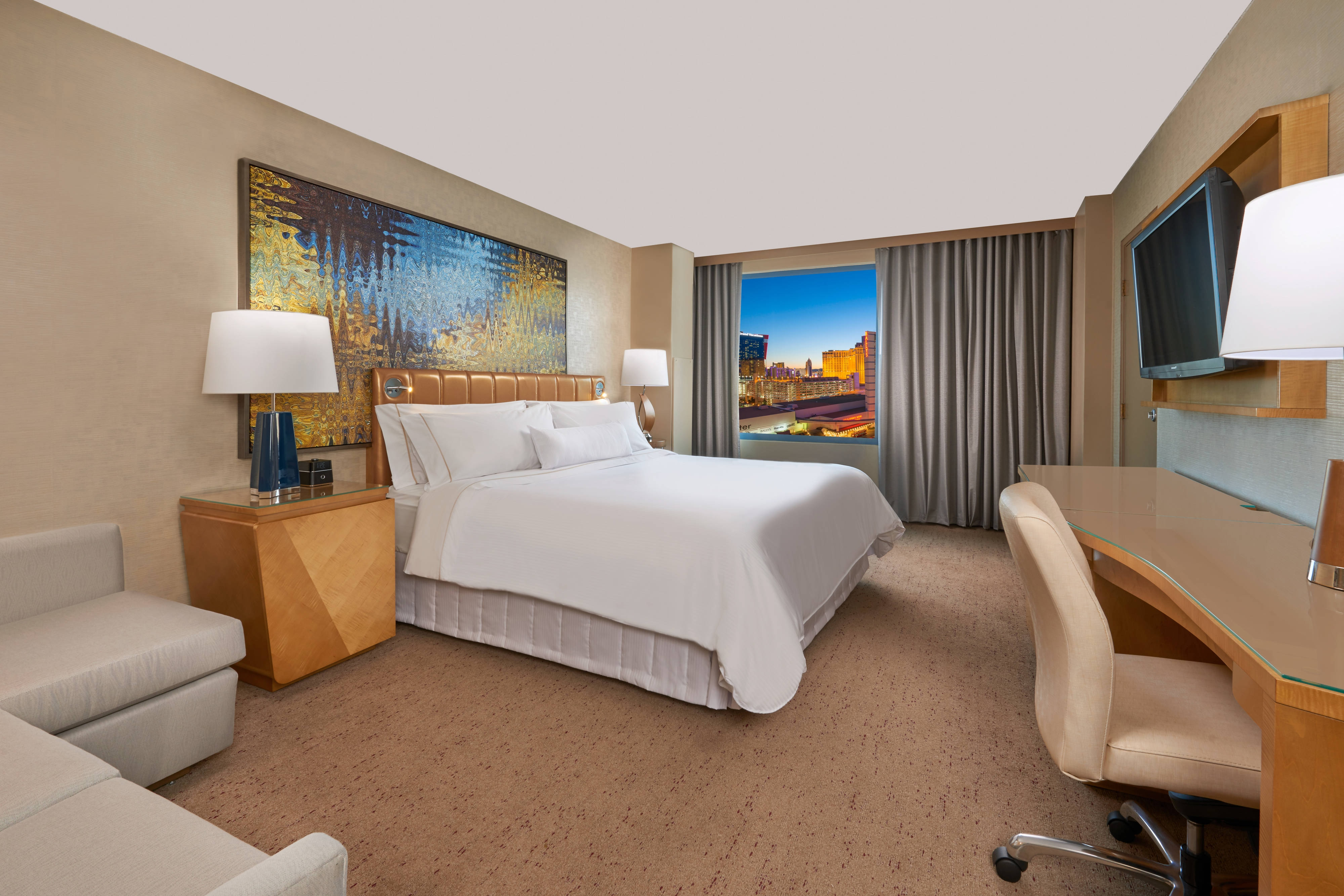Deluxe or Premium City View King Guest Room