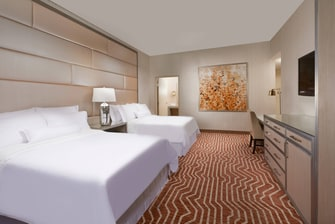 Presidential Suite Adjoining Bedroom