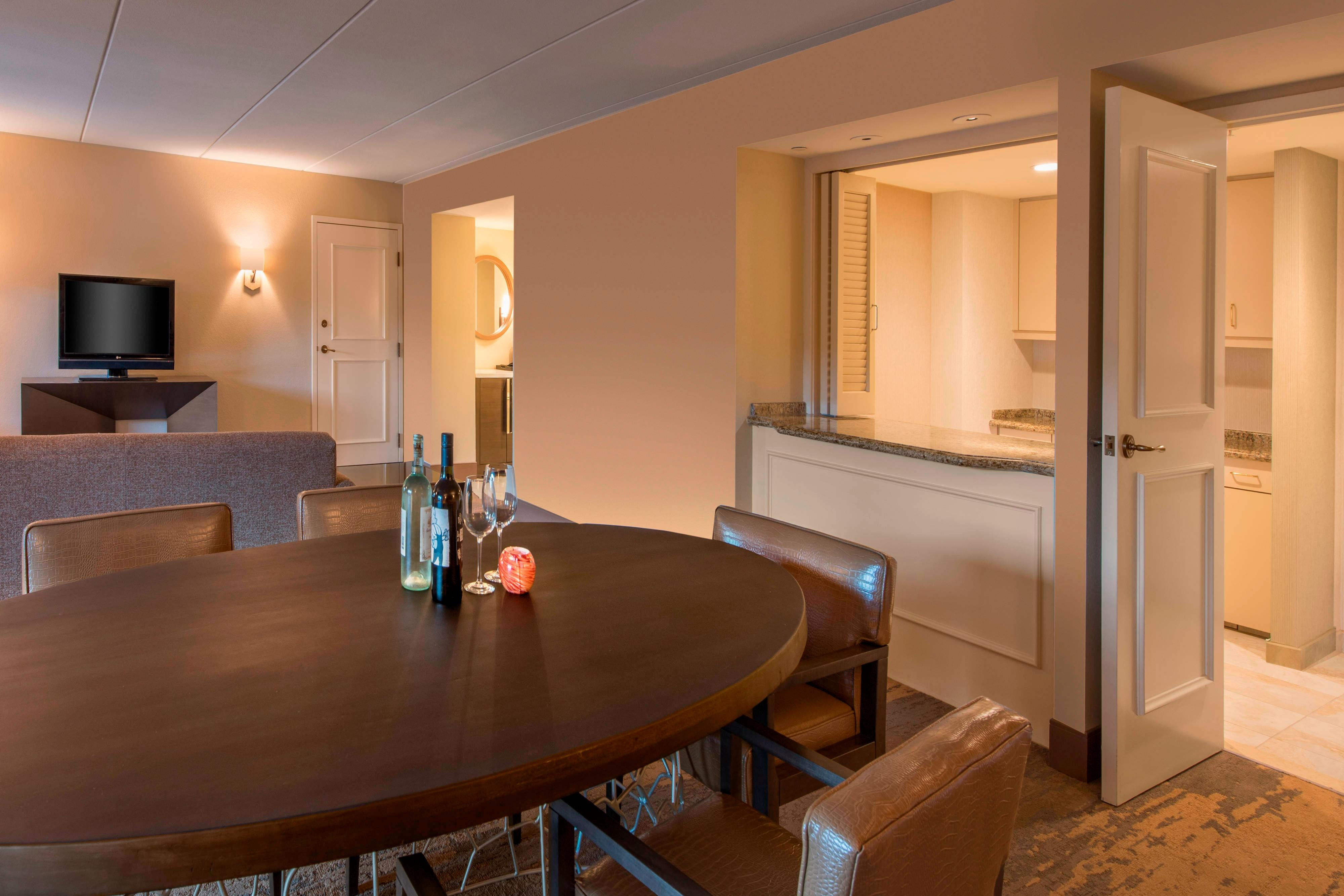 Hospitality Suite - Dining Area