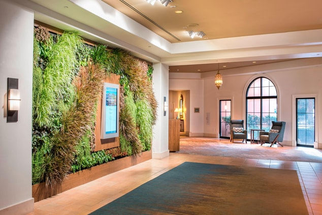 Living Wall Lobby Feature