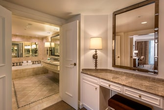Presidential Suite - Bathroom and Powder Room