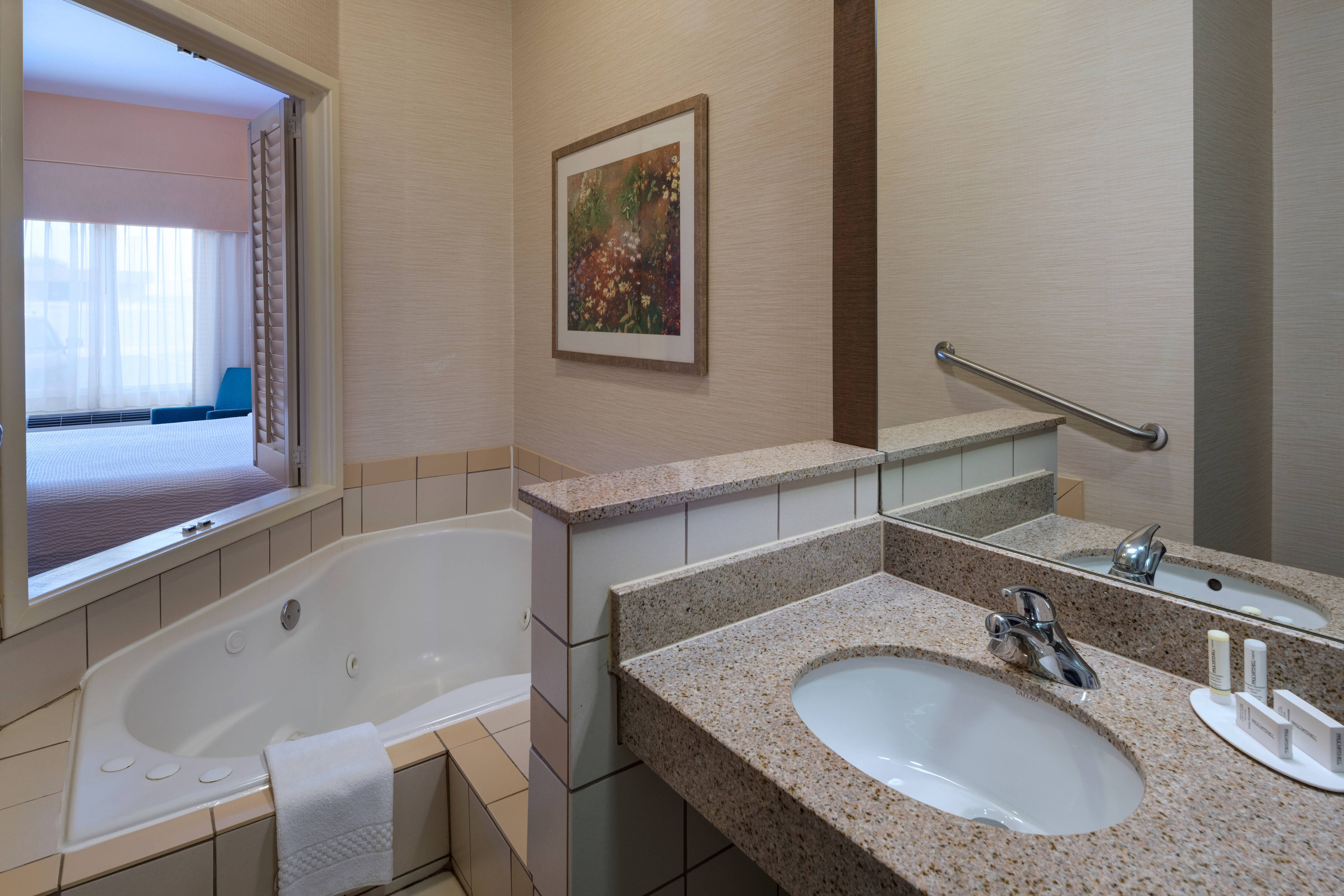 King Spa Guest Room - Whirlpool