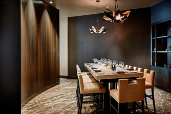 nFuse Bar and Kitchen - Semi-Private Dining Room