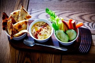 nFuse Bar and Kitchen - Hummus