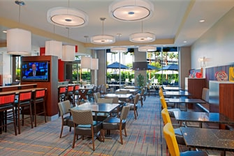LAX Hotel Breakfast Area