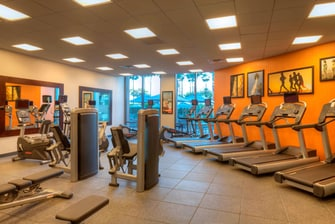 LAX Hotel Fitness Center