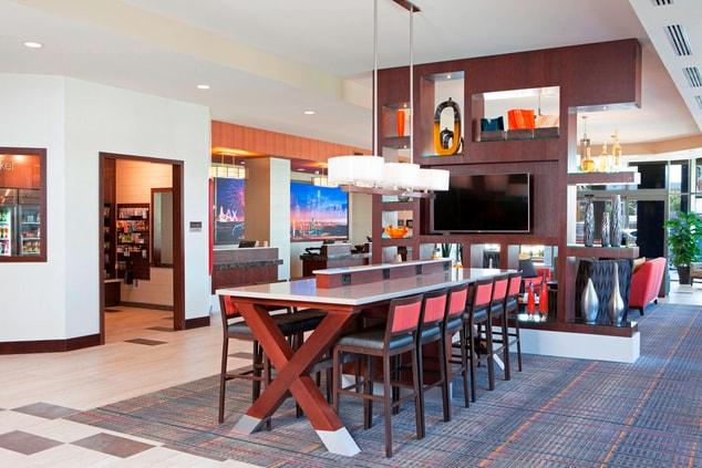 LAX Hotel Lobby