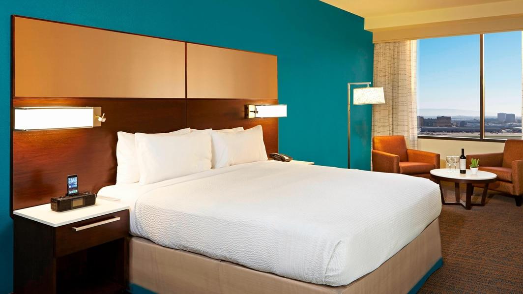Suite mit einem Schlafzimmer – Schlafzimmer