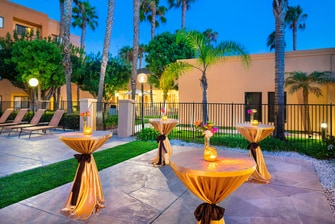 Torrance Hotel Outdoor Event Space