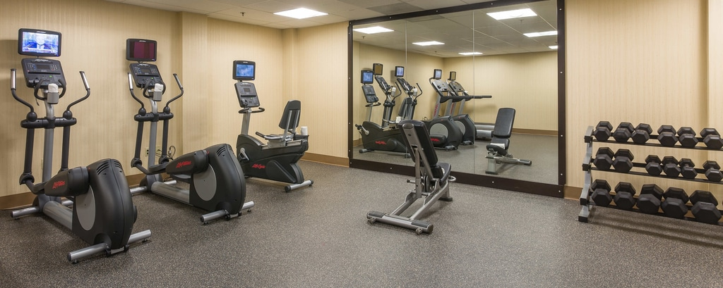 Fitnesscenter des Hotels in Los Angeles