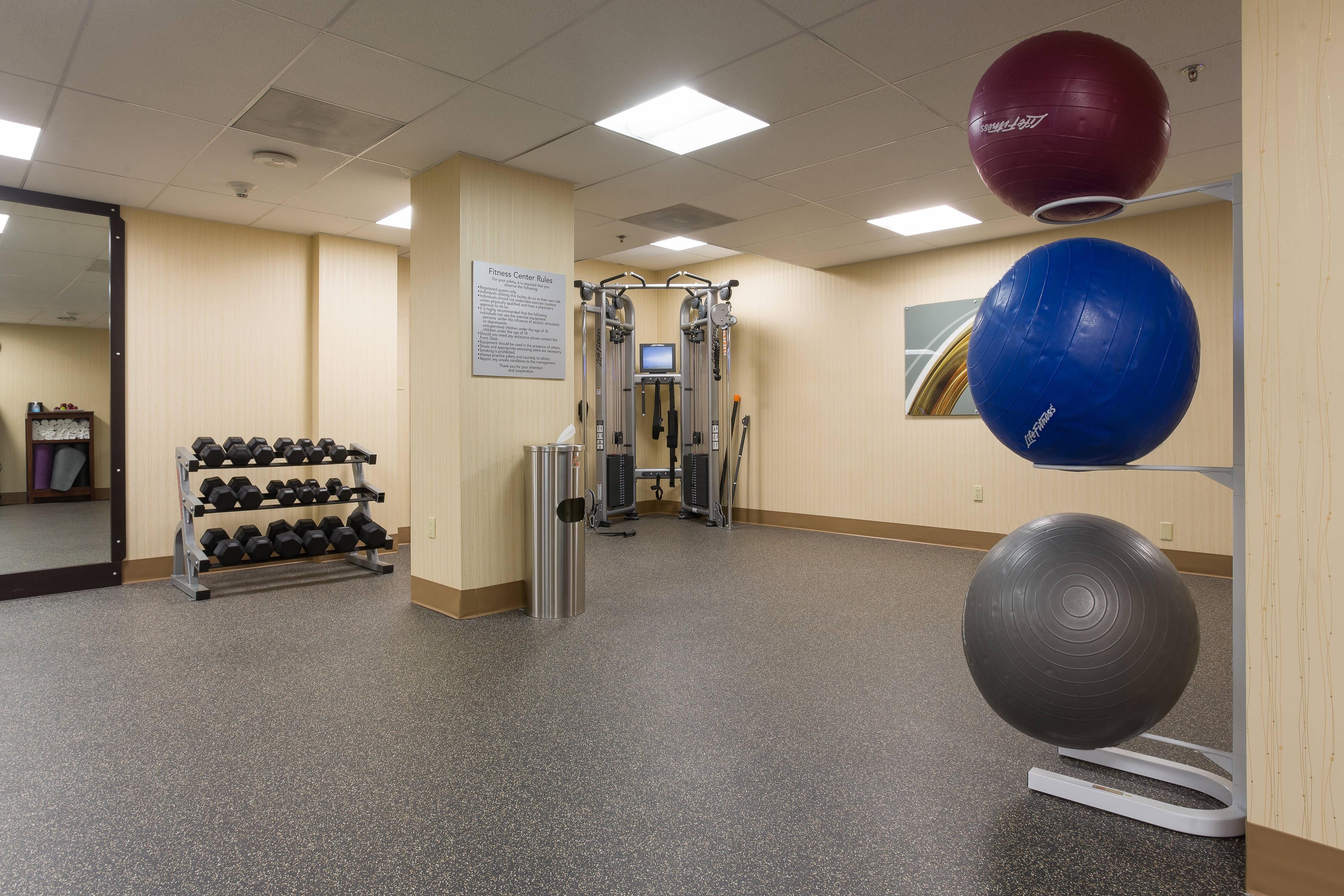 Culver City hotel fitness center