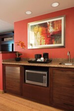 Executive King Guest Room Wet Bar