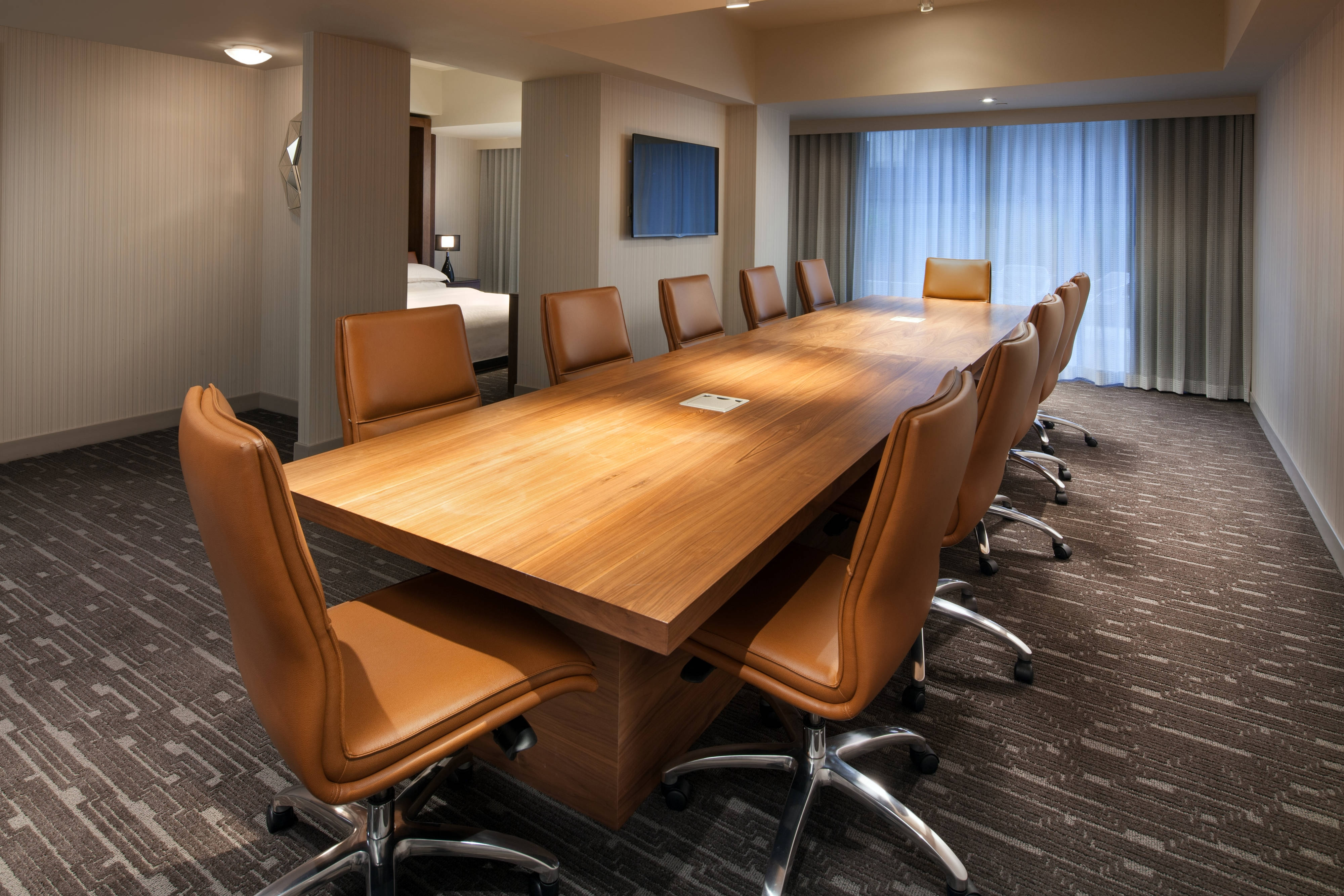 Boardroom With Bed
