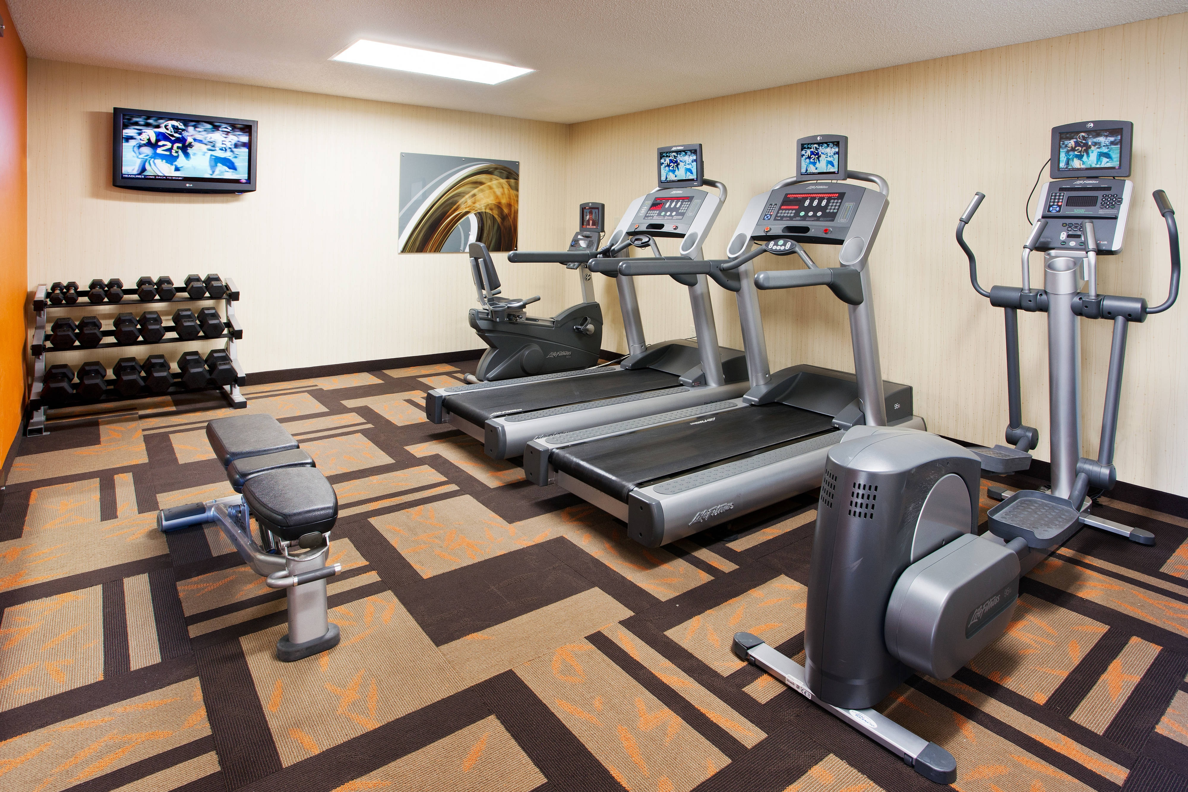 Courtyard Hacienda Heights Fitness Center
