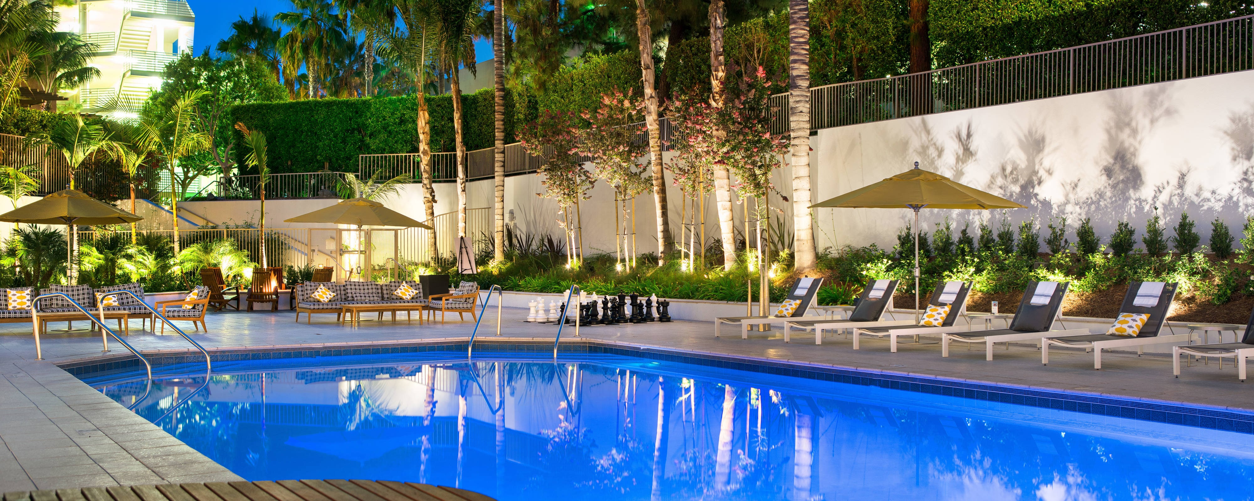 Irvine hotel with gym and pool irvine marriott - Menzies hotel irvine swimming pool ...