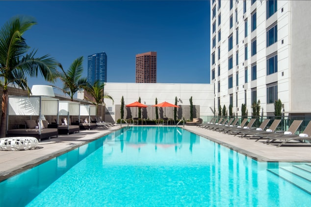 Courtyard L.A. Live Pool