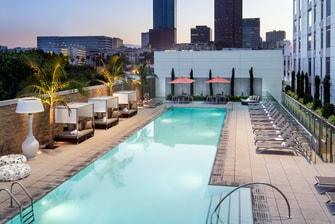 Courtyard L.A. LIVE Outdoor Pool