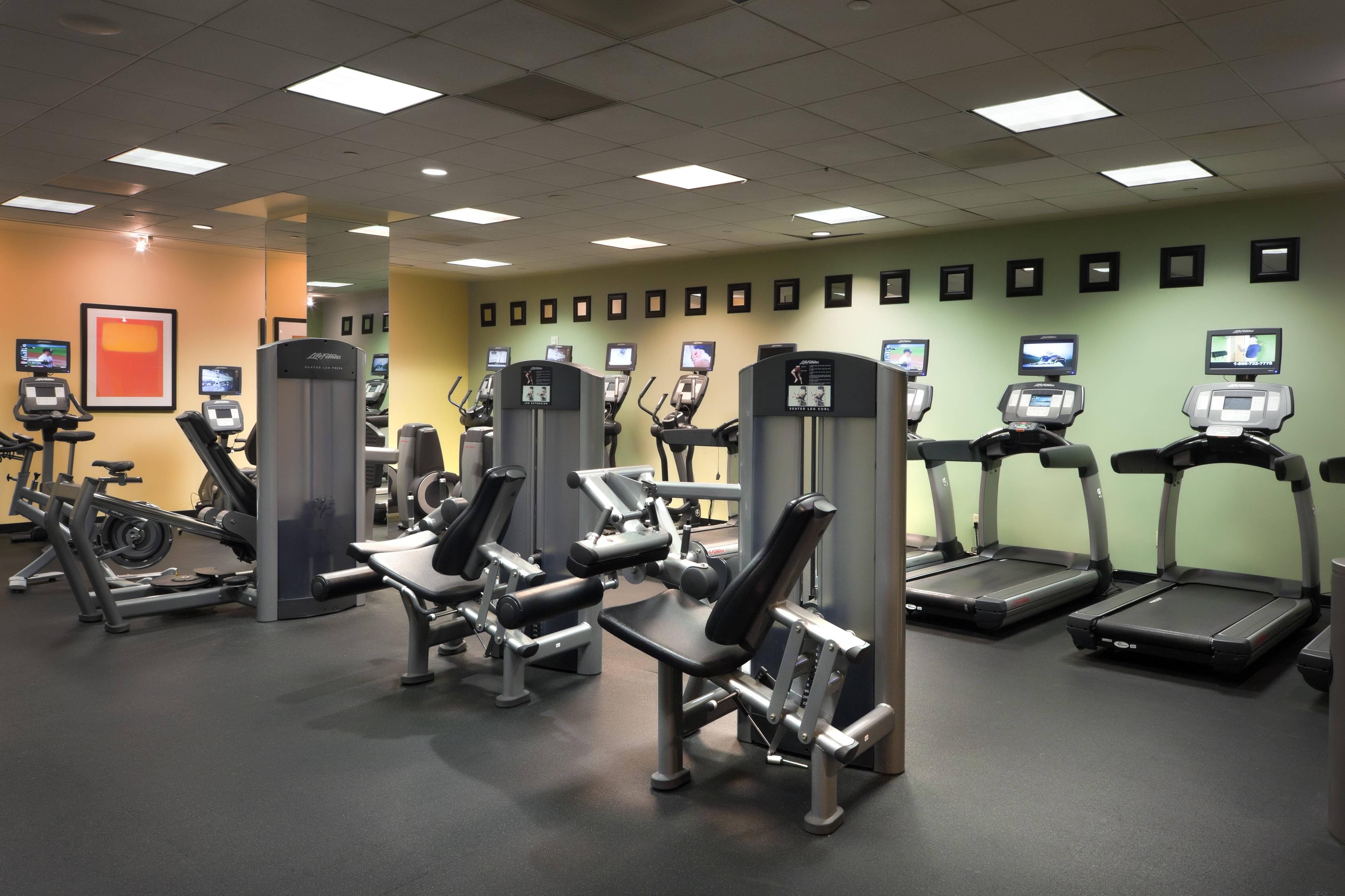 Marina del Rey Marriott Fitness Center