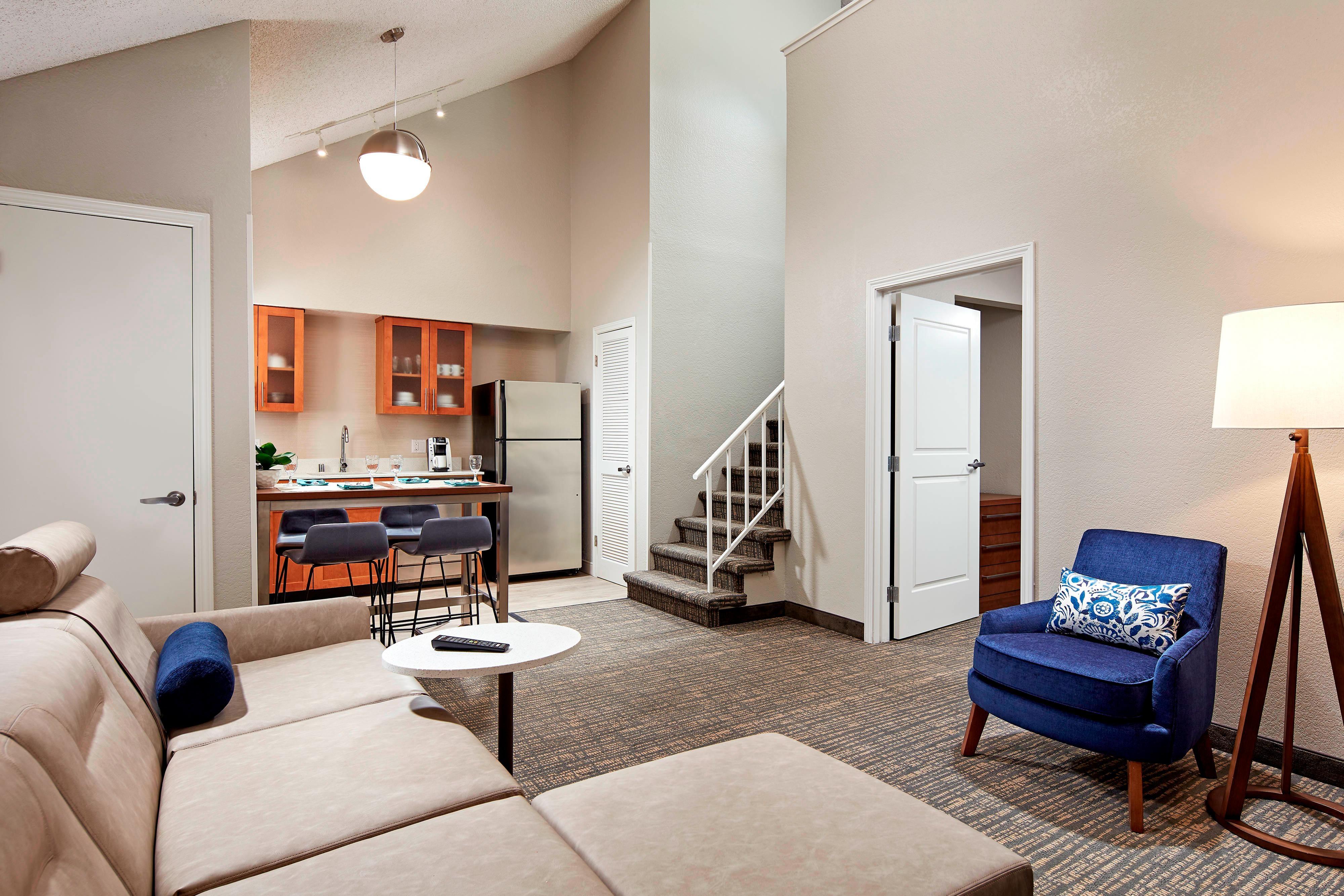 Suite penthouse - espace détente