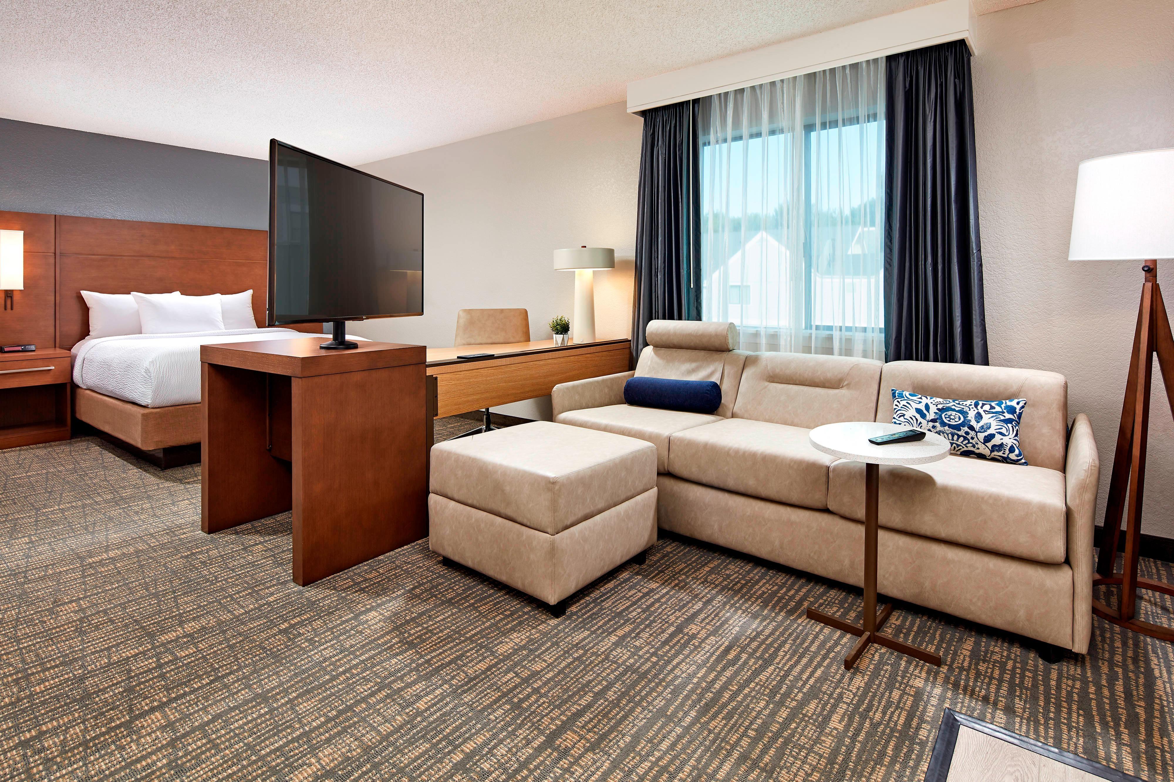 Suite Studio avec lit double-coin salon