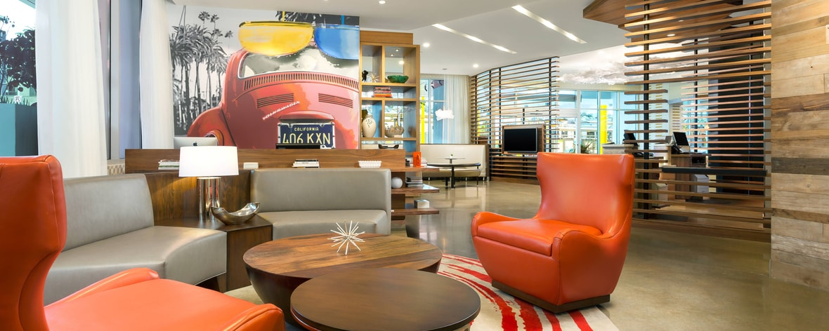 New Downtown Santa Monica Pier Hotel Courtyard By Marriott