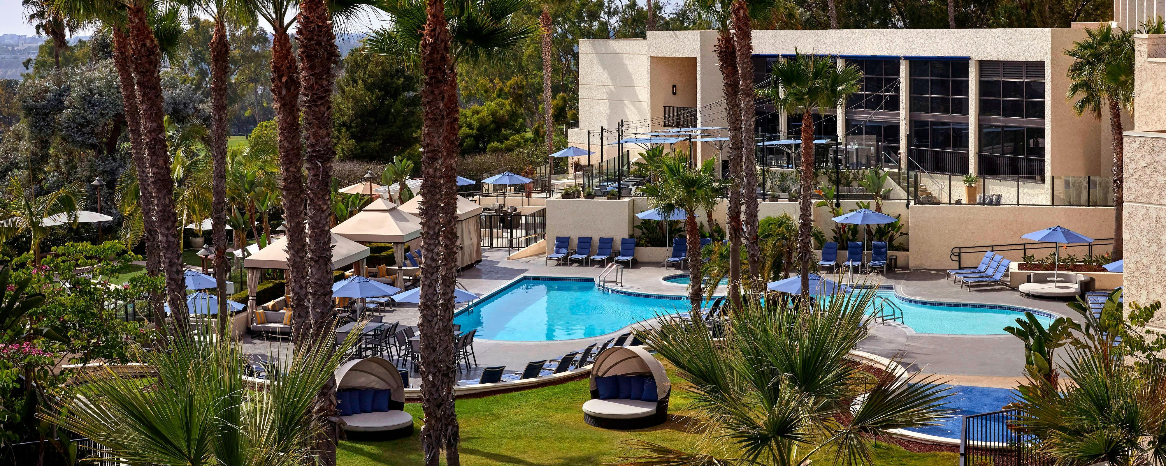 Newport Beach Hotel Gym | Newport Beach Marriott Hotel & Spa