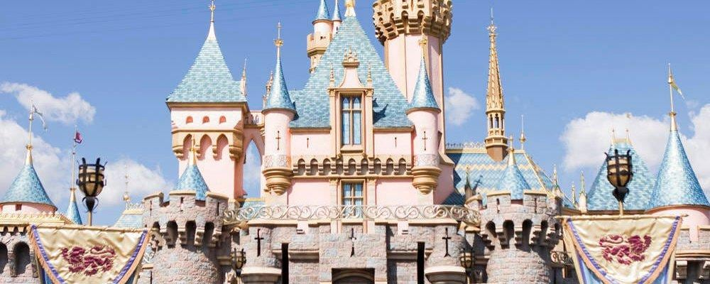 Schloss in Disneyland, CA