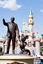 Disney Statue & Mickey Mouse