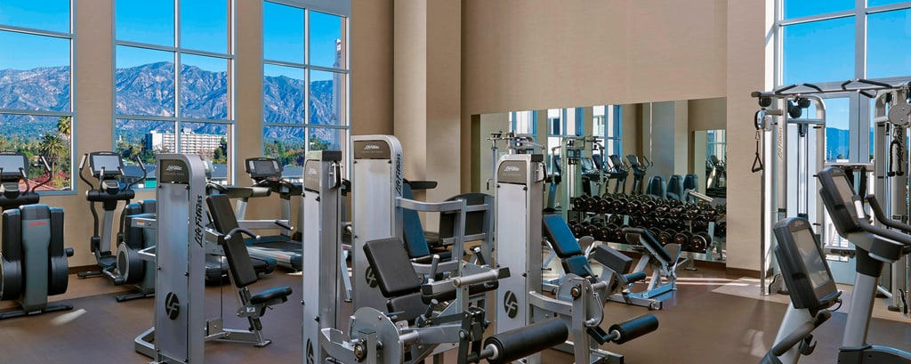 Hotels in Pasadena Fitness Center