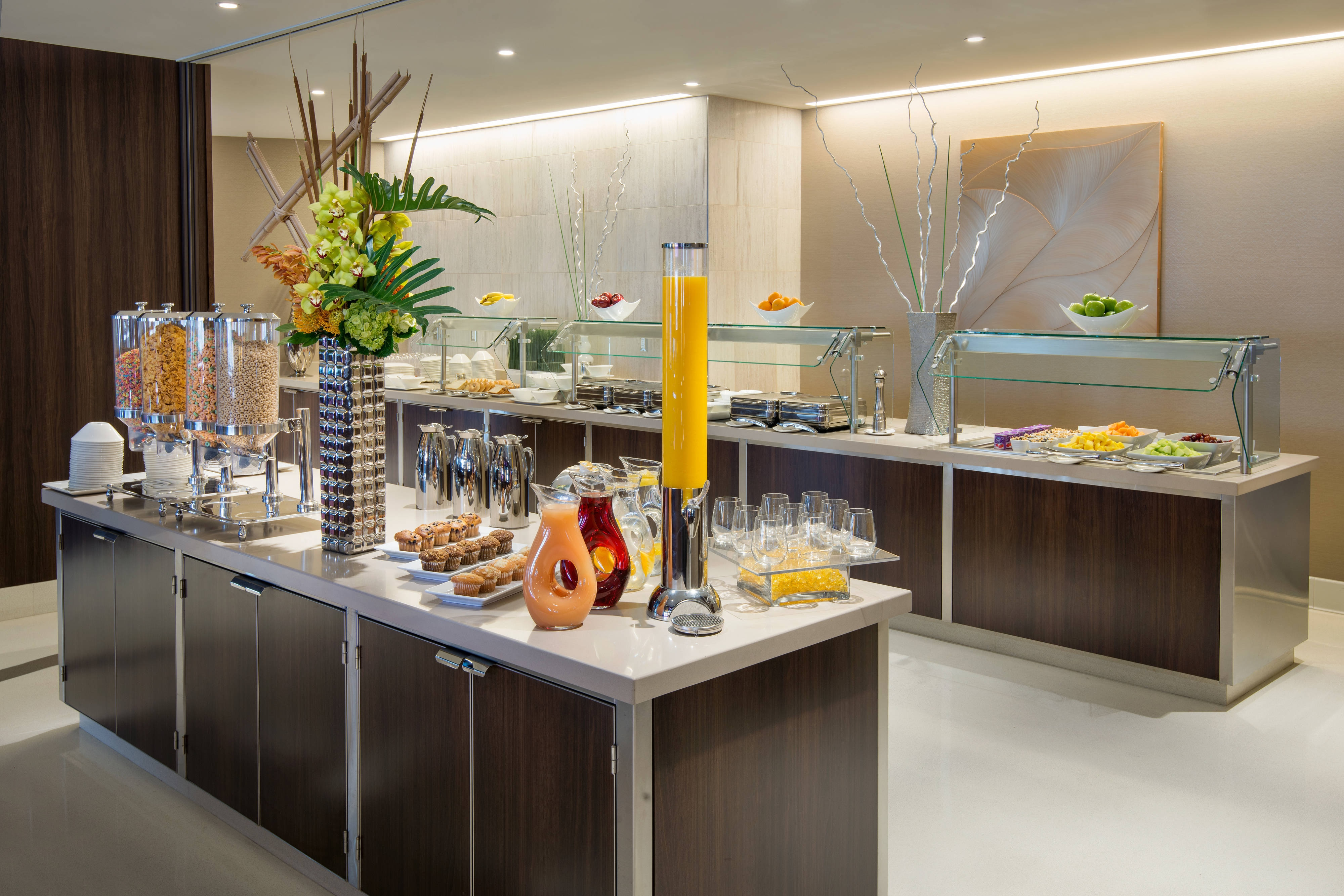 Residence Inn L.A. LIVE - Breakfast Buffet