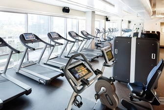 Gimnasio del Residence Inn Los Angeles L.A. LIVE