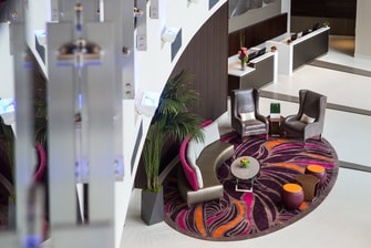 Hotel Residence Inn by Marriott Los Angeles L.A. LIVE – Asientos del lobby