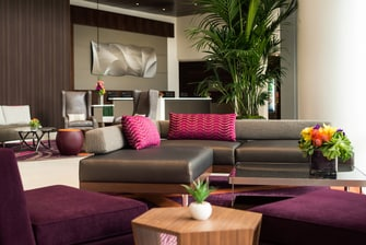 Residence Inn by Marriott Los Angeles L.A. LIVE – Lounge del lobby