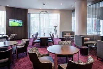 Residence Inn Los Angeles L.A. LIVE – Asientos del lounge